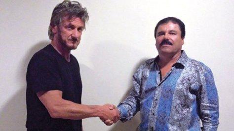Sean Penn y El Chapo - Imagen pública