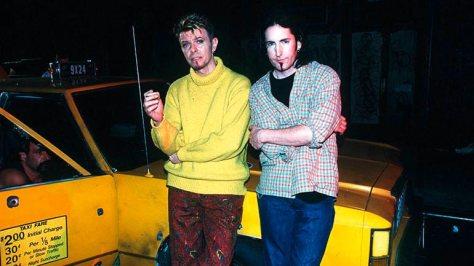 David Bowie y Trent Reznor - Imagen pública