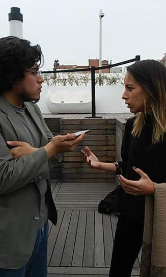 Elena Damiani y José Luis Dávila - Fotografía por Dalia Ruiz