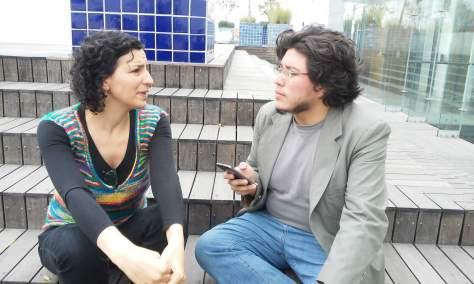 Verónica Gerber y José Luis Dávila - Fotografía por Dalia Ruiz