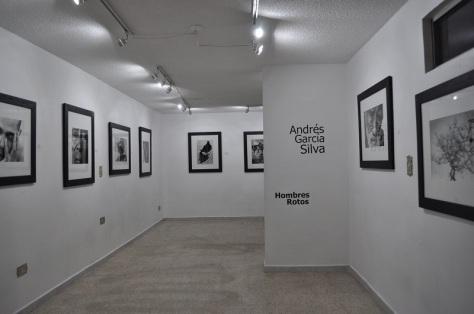 Serie Hombres rotos, de Andrés García Silva - Fotografía por Jessica Tirado Camacho