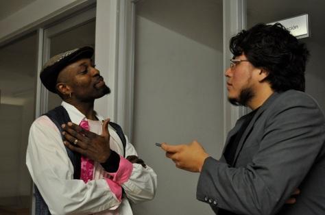 Clarence Penn y José Luis Dávila - Fotografía por Jessica Tirado Camacho