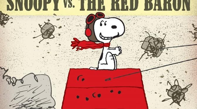 Snoopy el aviador