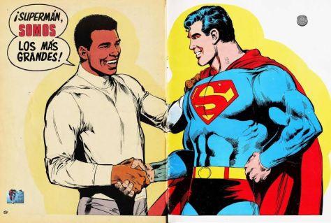 Superman vs. Muhammad Ali - Imagen pública
