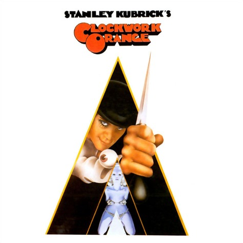 A clockwork orange - Póster