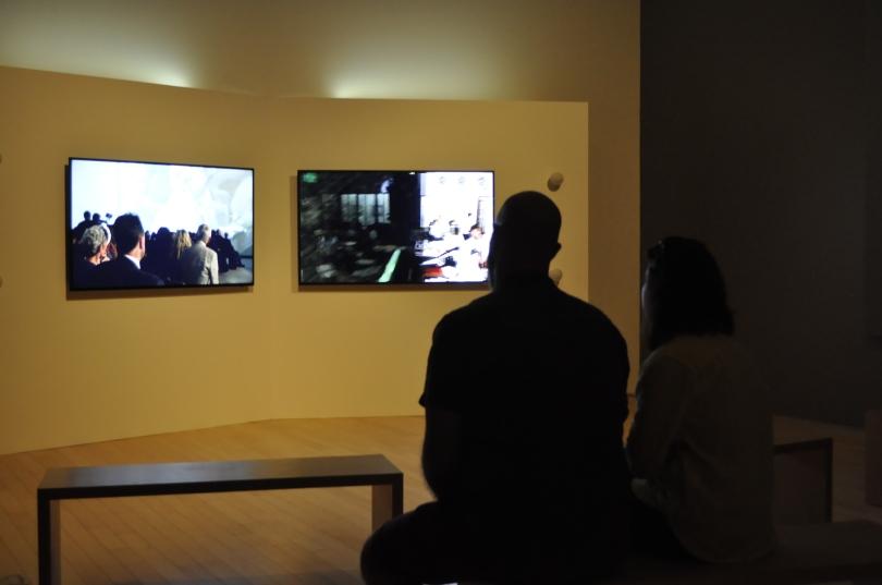 Kapital, de Isaac Julien, en el Museo Amparo - Fotografía por Jessica Tirado