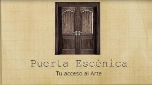 Puerta escénica