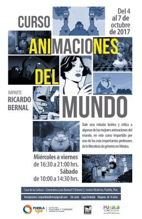 Animaciones del mundo, póster