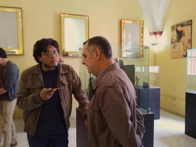 Animaciones, sueños, narraciones: entrevista a Ricardo Bernal